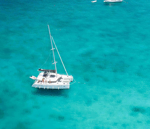 Aerial Yacht by France and Jesse - British Virgin Islands