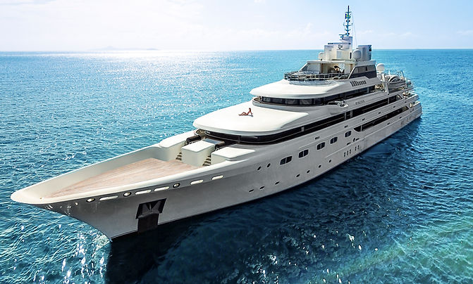 Omega Yacht Aerial Image by France and Jesse - St. Lucia