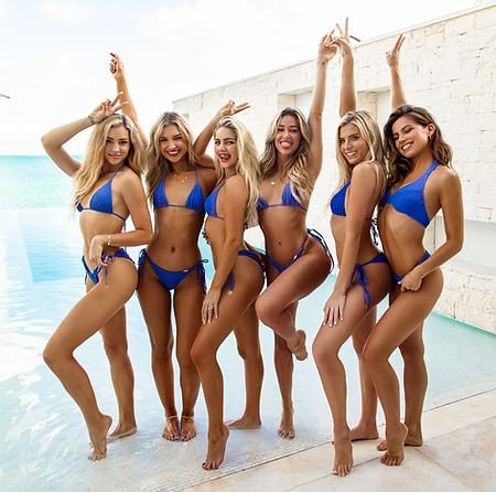Charly Jordan, Gabby Epstein, Maddie Louch, Cindy Prado, Haley Ferguson and Kristina Schulman - Turks and Caicos