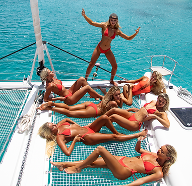 Alexa Collins, Cambrie and Faith Schroder, Bree Kleintop, Maddie Louch, Gabby Epstein, Danielle Maltby - British Virgin Islands