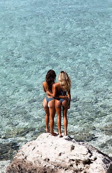 Steph Rayner and Bree Kleintop - Exumas, Bahamas