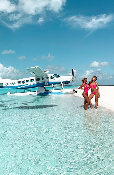 France Duque and Kara Jewell - Exumas, Bahamas
