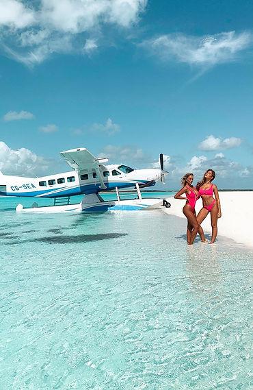 France Duque and Kara Jewell - Exumas, Bahamas