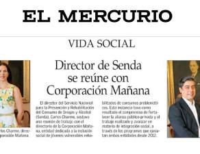 Director de Senda se reúne conCorporación Mañana