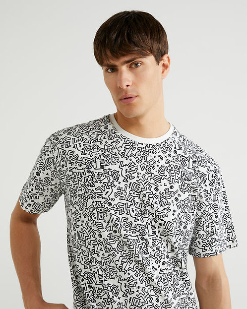 """T-SHIRT """"Keith Haring"""""""