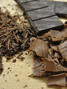 Chocolate Bitter sin azúcar.