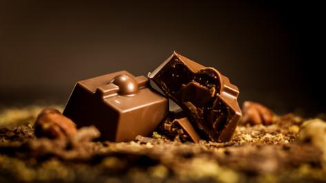 Bombón Belga. Creme du chocolat, bañado en chocolate de 43% cacao.