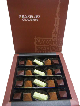 Caja de 20 bombones sin azúcar, especial para diabéticos.