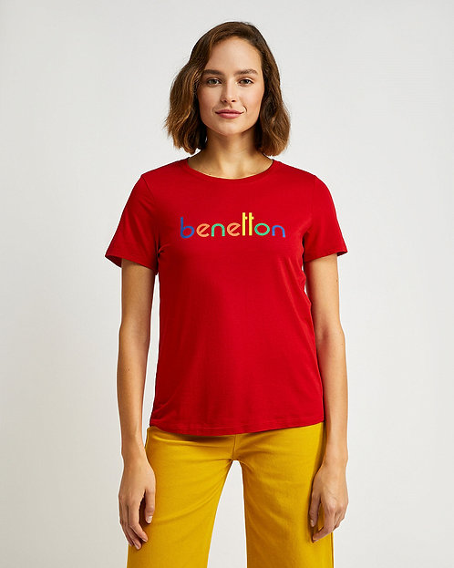 T-SHIRT BENETTON ROJO