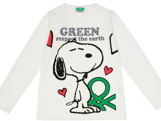 En BENETTON el 91% de las fibras que utilizamos en nuestras prendas son de origen natural.