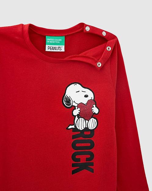 """POLERA GIRL con estampado de """"Snoopy"""""""