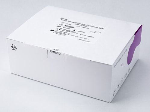 10 Cajas Test Rápido - GENRUI