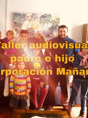 Taller audiovisual padre e hijo