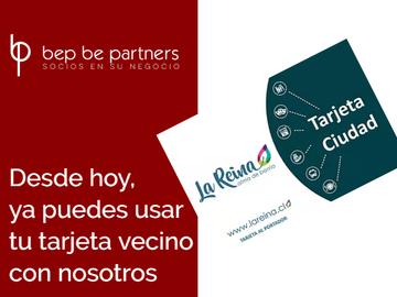 Bep Be Partners con descuentos especiales para Tarjeta Vecino La Reina