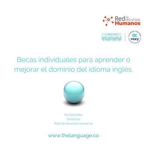 Beca Academia de Inglés de la Red de Recursos Humanos - powered by The Language Co