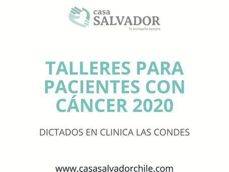 Talleres para Pacientes con Cáncer 2020