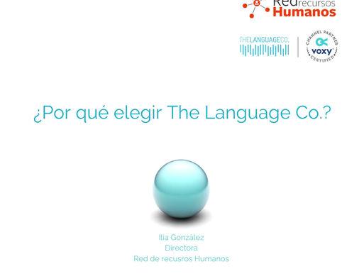 ¿Por qué elegir The Language Co?