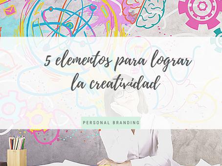 5 Pasos para lograr la Creatividad
