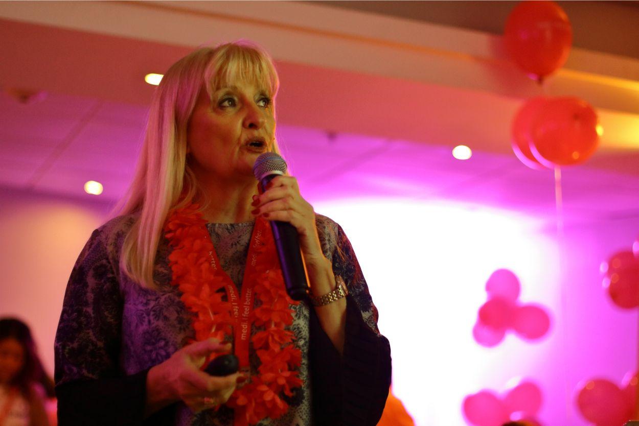Dra. Mabel Busatti - Casa Salvador - 3ra jornada linfedema chile