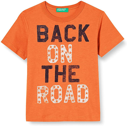 T-SHIRT BACK ON THE ROAD TODDLER