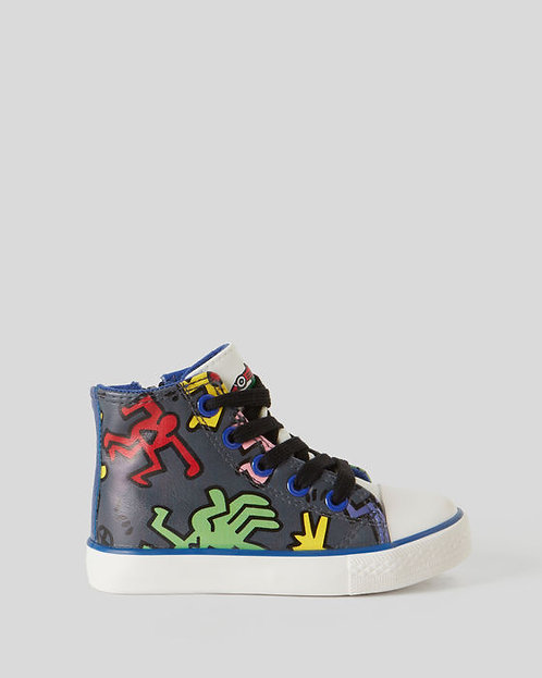 ZAPATO KIDS KEITH HARING