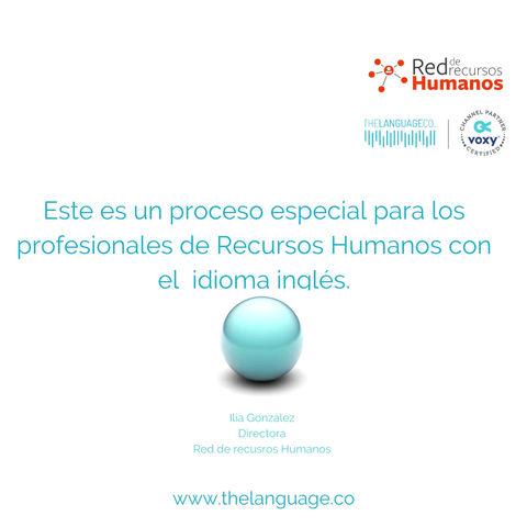 Inglés Técnico en la Academia de inglés de la Red de RRHH - powered by The Language Co.