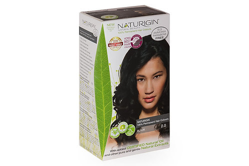 Naturigin 2.0 BLACK Permanent Organic Hair Dye [JSJ]