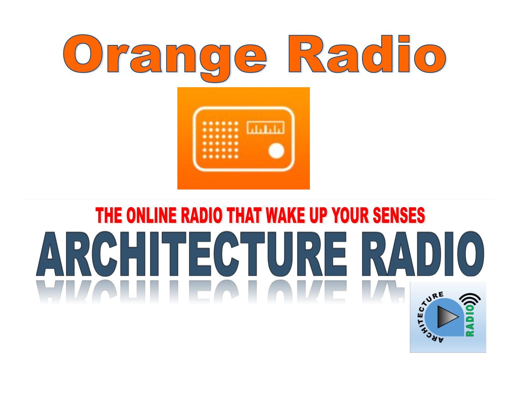 banner architecture radio- orange radio