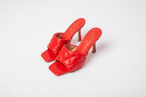 Red TMG heels