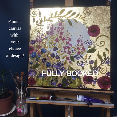 August 8th, Painting Workshop, YOUR CHOICE! :)