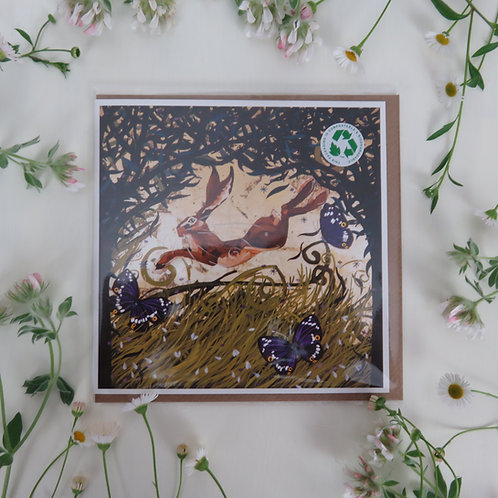 Wholesale King of the Hares, card