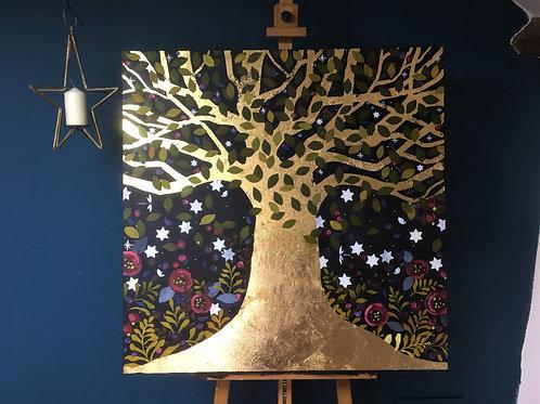 Magic Tree All For Me, ORIGINAL canvas