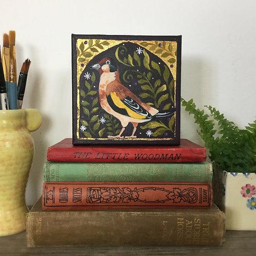 Fabulous Gold Finch, ORIGINAL painting