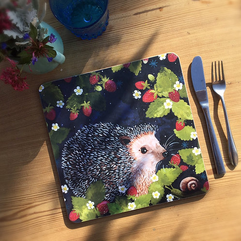 Rosie Hedgehog, Table/place mat
