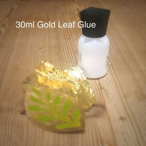 Glue for Imitation Gold Leaf, 30ml