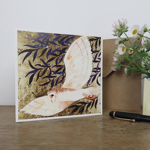 Tyto Alba, Barn Owl Card