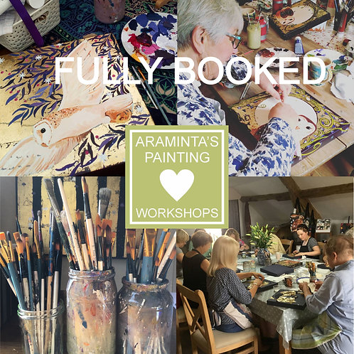 Sunday 18th July, Painting Workshop, YOUR CHOICE! :)