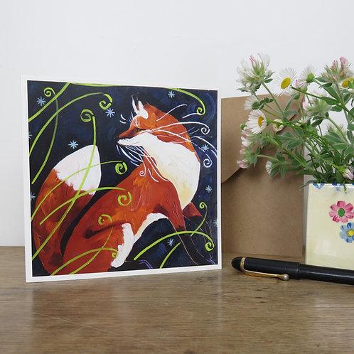 Foxy, card