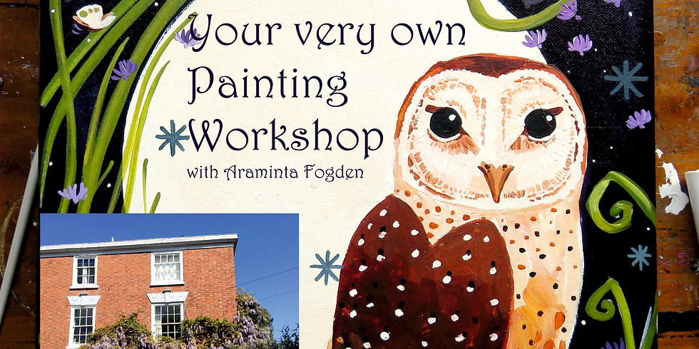 Painting Workshop at Earls Croome House £58