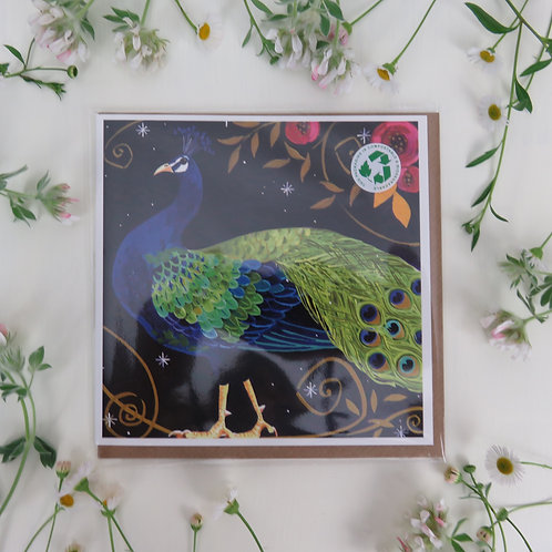 Wholesale Peacock, card