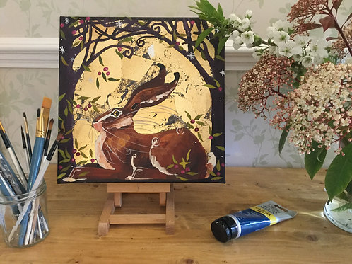 21st March, Painting Workshop, Very Berry Hare