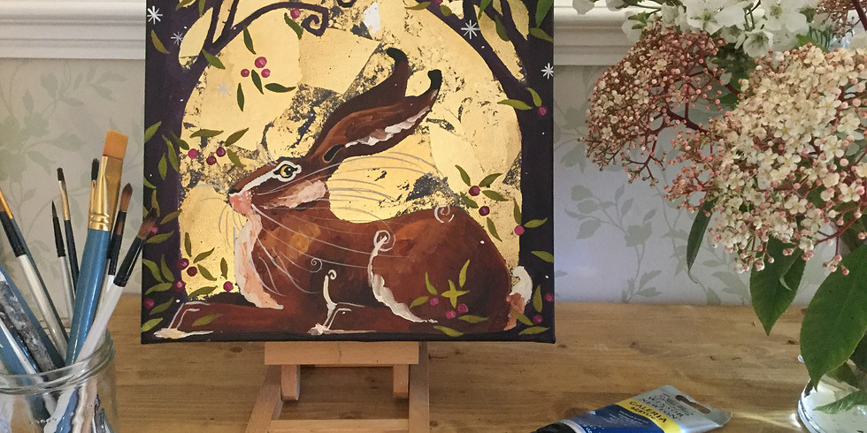 VERY BERRY HARE! Painting Workshop