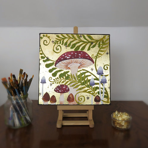 Wholesale King of the Toadstools Original Canvas