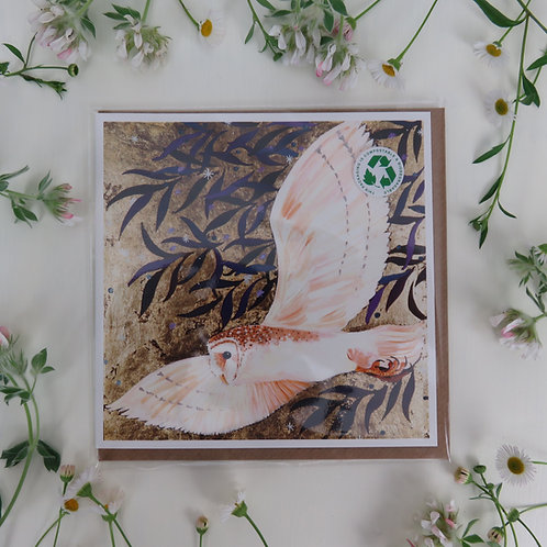 Wholesale Tyto Alba, Barn owl card