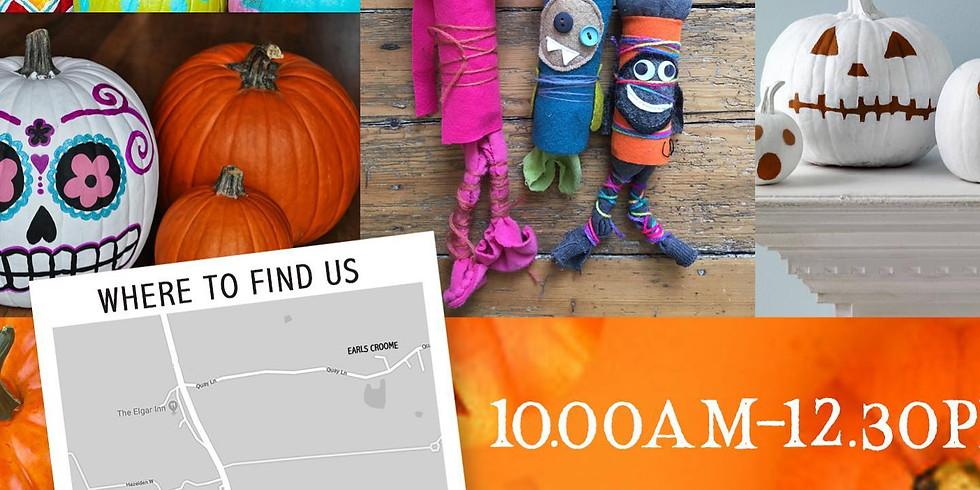 Paint a Pumpkin & Make a Monster!