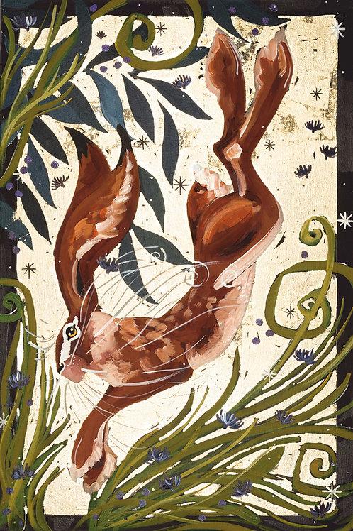 Luna Hare, original canvas