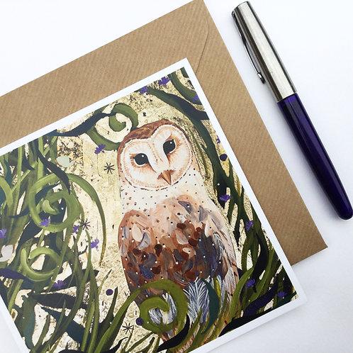 Midnight Owl, card