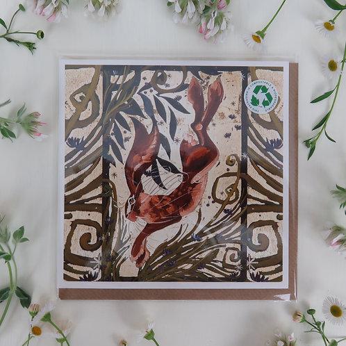 Wholesale Luna hare, card