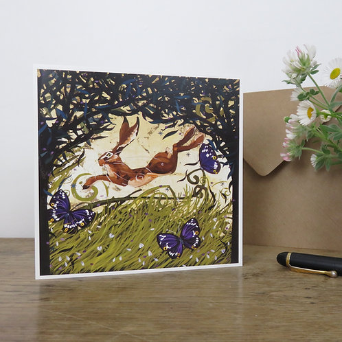 King of the Hares, Card