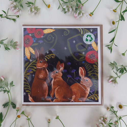Wholesale, Rabbits card